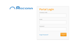Customer Portal login