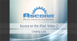 iPad 02: Creating Jobs
